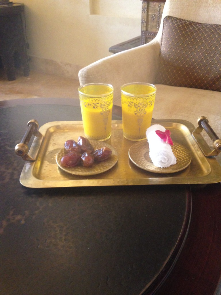 Qasr al Sarab Desert Resort - Camel Milk and Dates