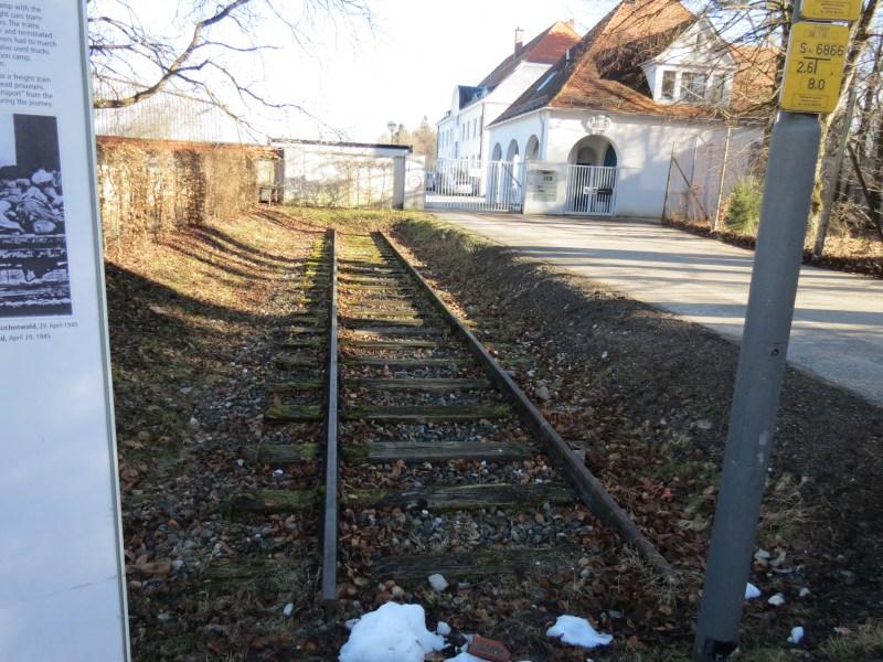 Dachau Path of Remembrance - Train Tracks