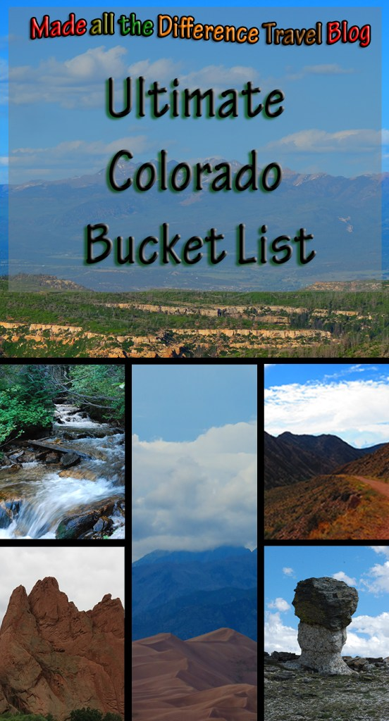 Ulimated Colorado Bucket list