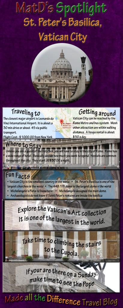 Spotlight Thursday - St. Peter's Basilica in Vatican City