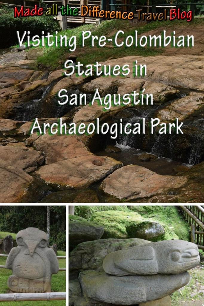 Visiting Pre-Colombian Statues in San Agustín Archaeological Park
