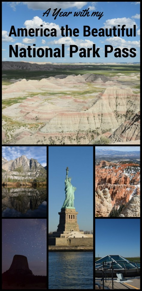 I had an amazing year exploring US National Parks with my America the Beautiful National Park Pass. The pass saved me over $120.00 in entrance fees.