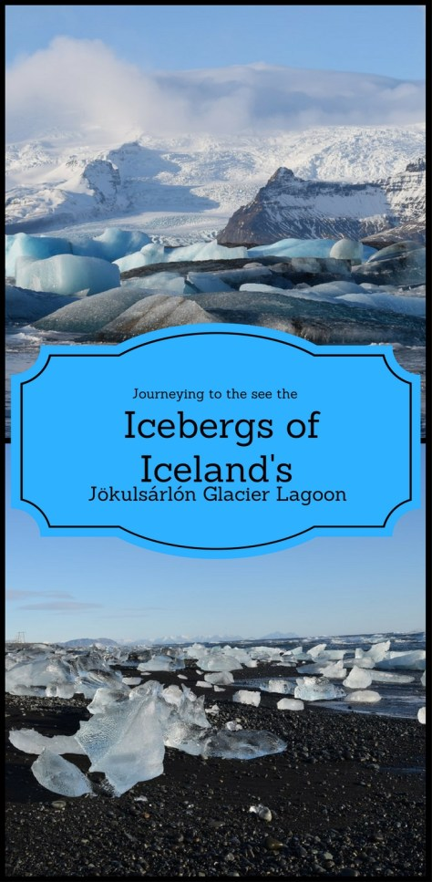 Journeying to the see the Iceburgs of Jökulsárlón Glacier Lagoon. ~~~~~~ One of the highlights of my winter Icelandic Road trip was my two day stop at Jökulsárlón Glacier Lagoon.  I enjoyed watching the icebergs of the lagoon.