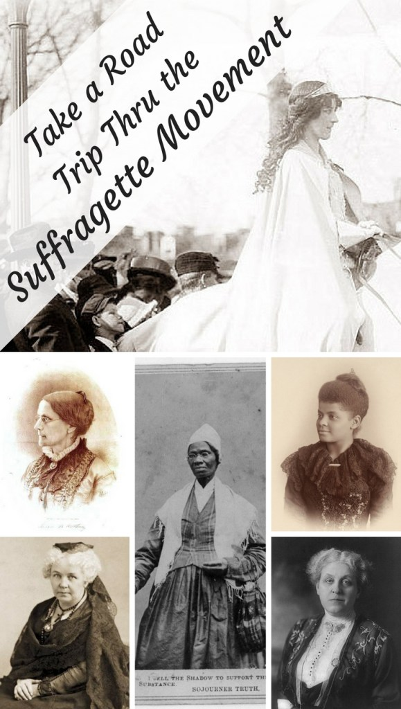 Looking to explore the US Suffragette Movement. This United States's suffragette movement took 80 years to get all women in the United States the right to vote. This road trip explores the women of the movement as well as the historical actions they took to gain the right to vote.