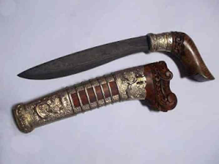 Senjata Tradisional Cangkingan