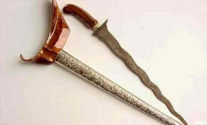 Senjata Tradisional Karih
