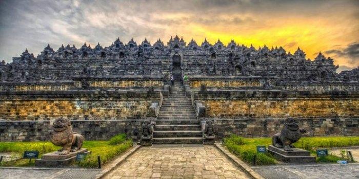 Lokasi Candi Borobudur