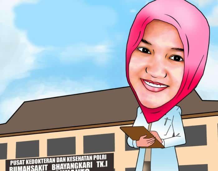 Karikatur dengan Tema Gambar Dokter