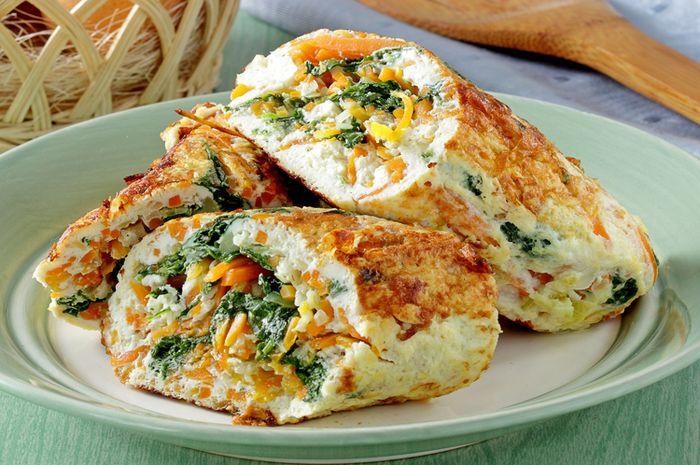 Resep Martabak Telur Isi Sayuran