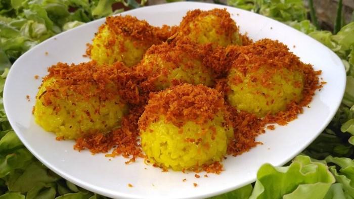 Resep Nasi Kuning Ketan
