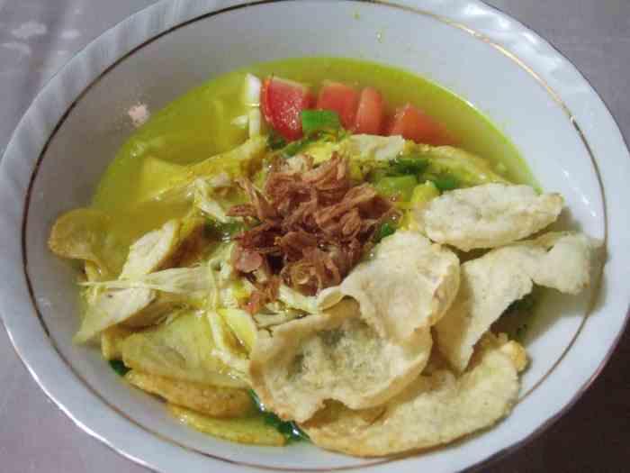 Resep Sop Ayam Santan Susu