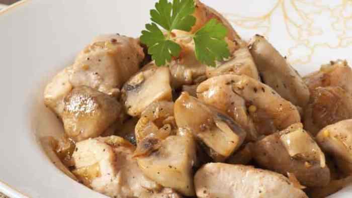 Resep Tumis Jamur Ayam