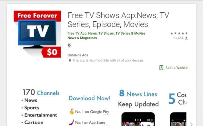 Aplikasi Free TV, Nonton TV Lebih Mudah