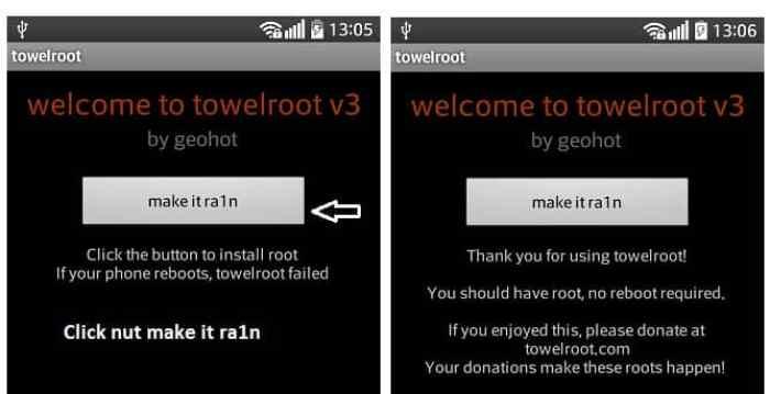Aplikasi TowelRoot