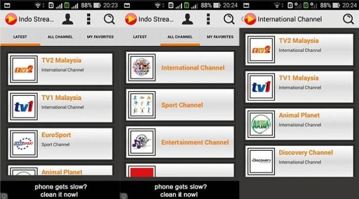 Aplikasi indostreamix TV nonton terbaik dengan ponsel