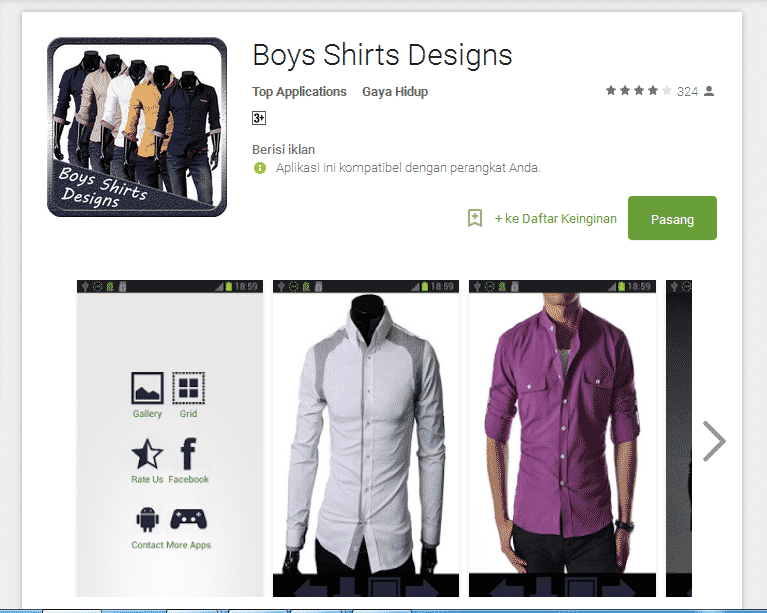 Boys Shirts Design