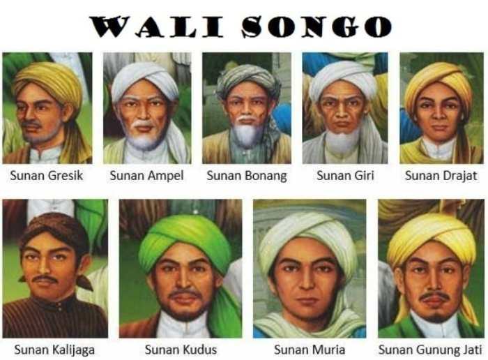 Nama-nama Asli Walisongo