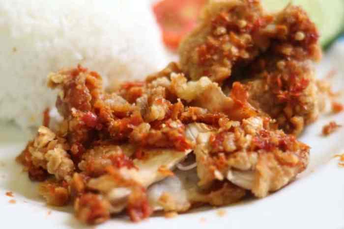 Resep Ayam Geprek Biasa