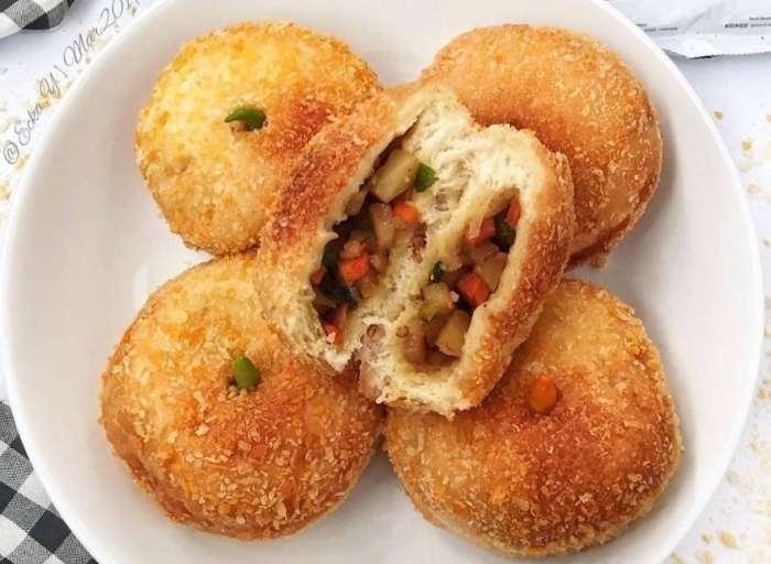 Roti Goreng isi Kurma