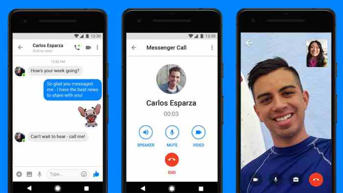 VIDEO CHAT FOR FECEBOOK