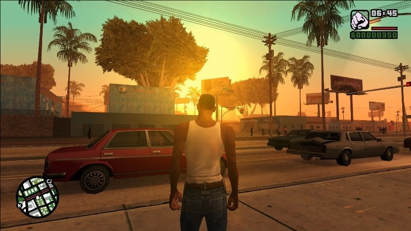 Game Offline Grand Theft Auto: San Andreas