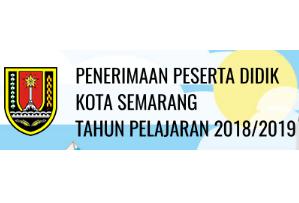 Pendaftaran Online PPDB SMP Negeri Kota Semarang