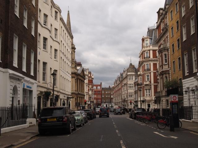 イギリスの街並み
