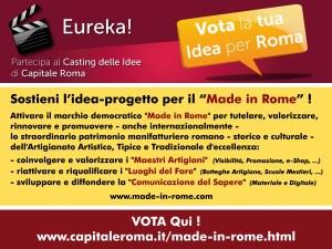 Vota il Made in Rome OK