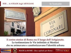 le Vie Artigiane di Roma