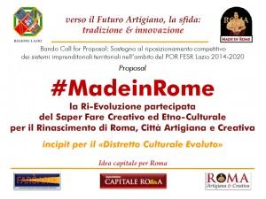 #MadeinRome