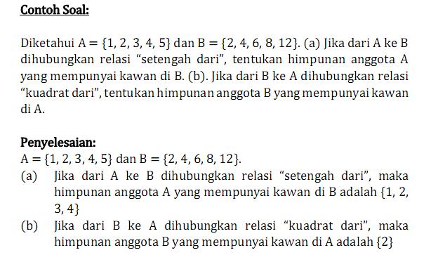 Mean dari data 7,9,12,8,10,15,18,14,16,x, adalah 12. Brynn Jordan Contoh Soal Matematika Relasi Dan Fungsi Kelas 8
