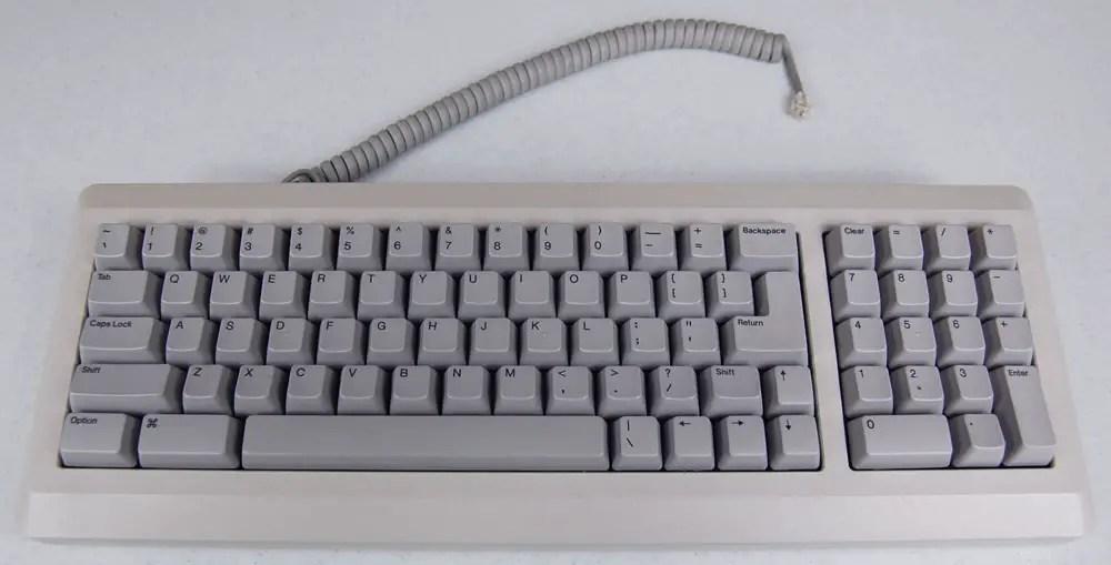 Apple Macintosh Plus Keyboard