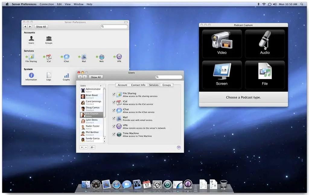 Mac OS X Server 10.5 Leopard