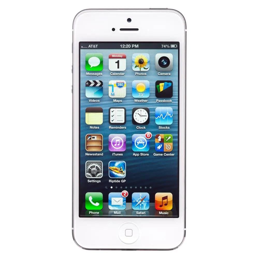 iOS 6 - iPhone 5