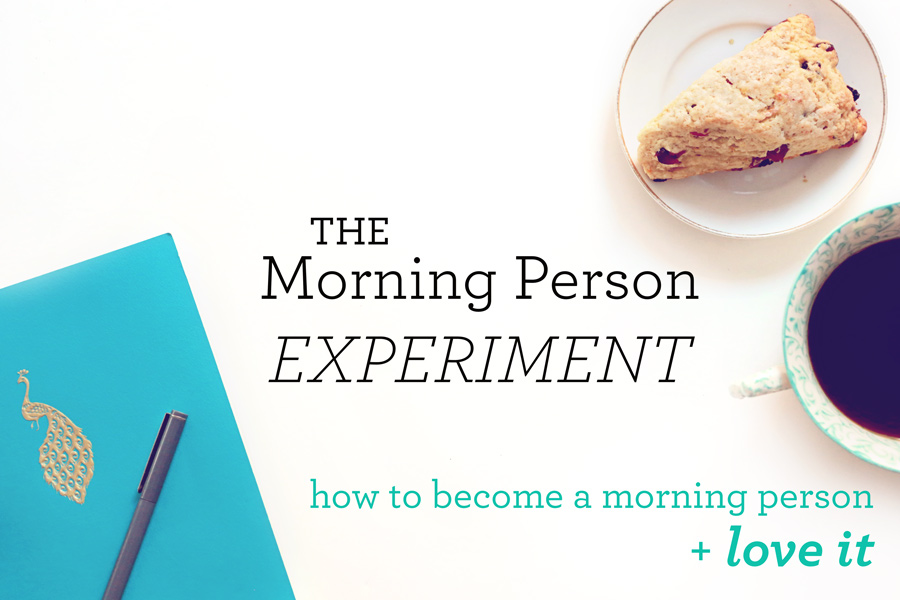 The Morning Person experiment: 5 days to change and love it