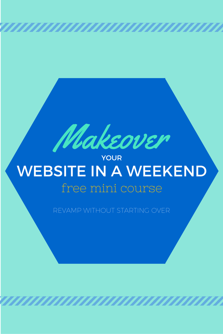 Revamp your website in just one weekend without throwing away everything