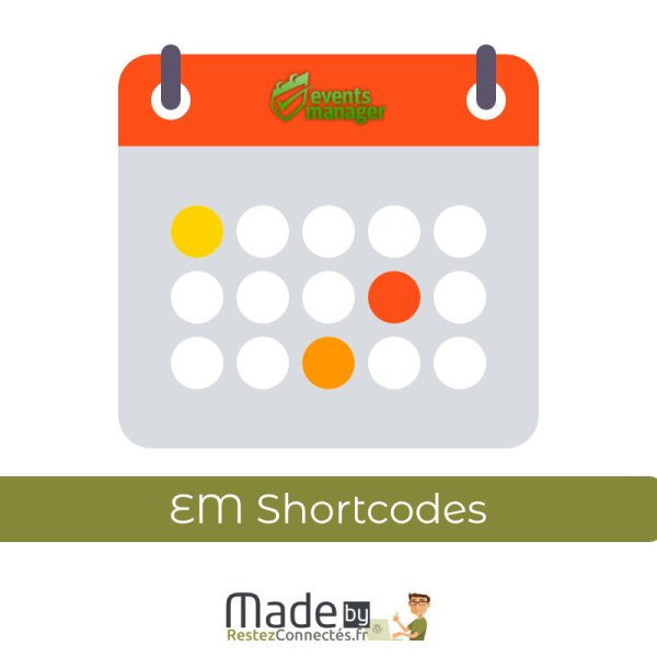 Events Manager Shortcodes