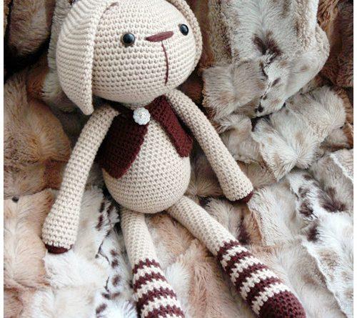 Patron Amigurumi Crochet Lucas Le Lapin Made By Amy
