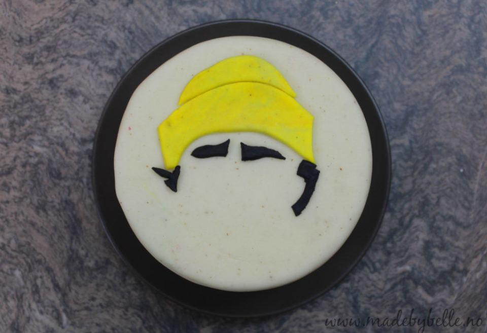 Sjablong til kaker