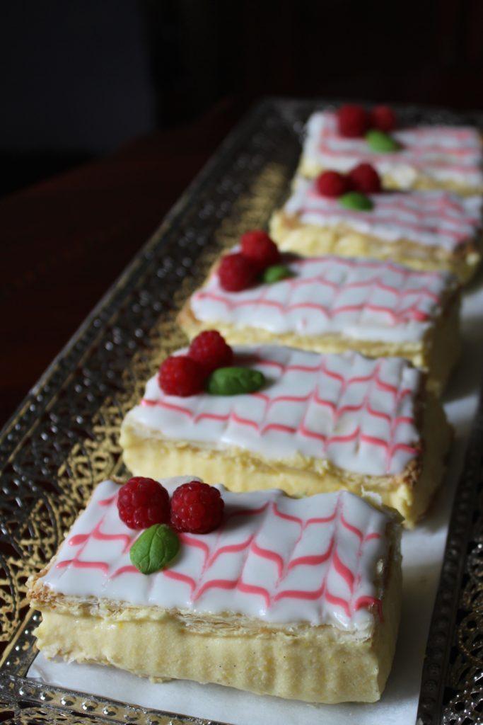 Mange Napoleons kakestykker