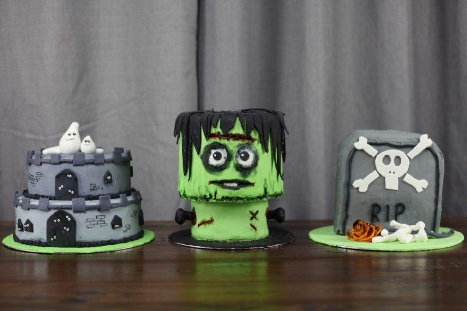 Skumle kaker til halloween