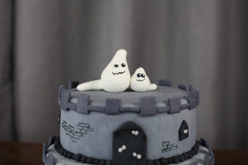 to små spøkelser på ett slott