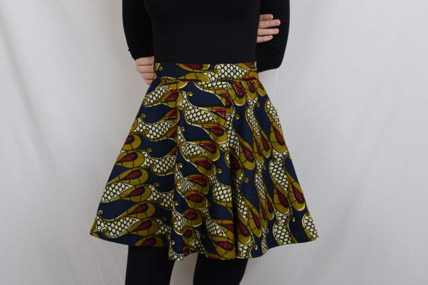 The first skirt I ever made. Photography by Tori O'Connor