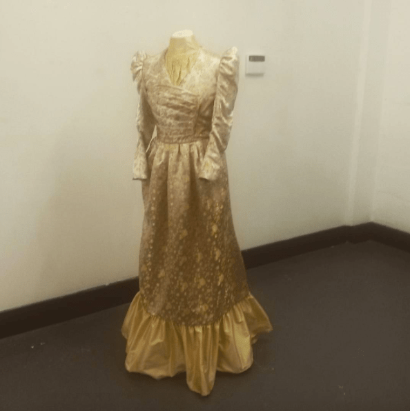 A Victorian dress made for the National Trust.