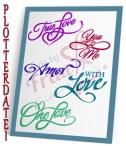 Love-Words-Set