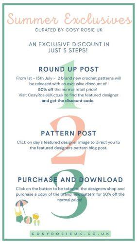 summer exclusives crochet event