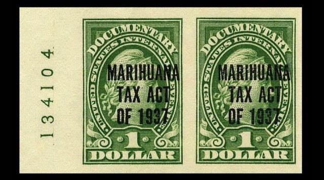 marihuana tax act
