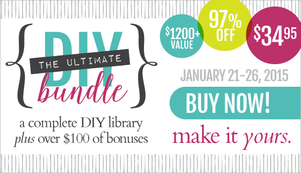 Ultimate DIY Bundle | JaimeSews