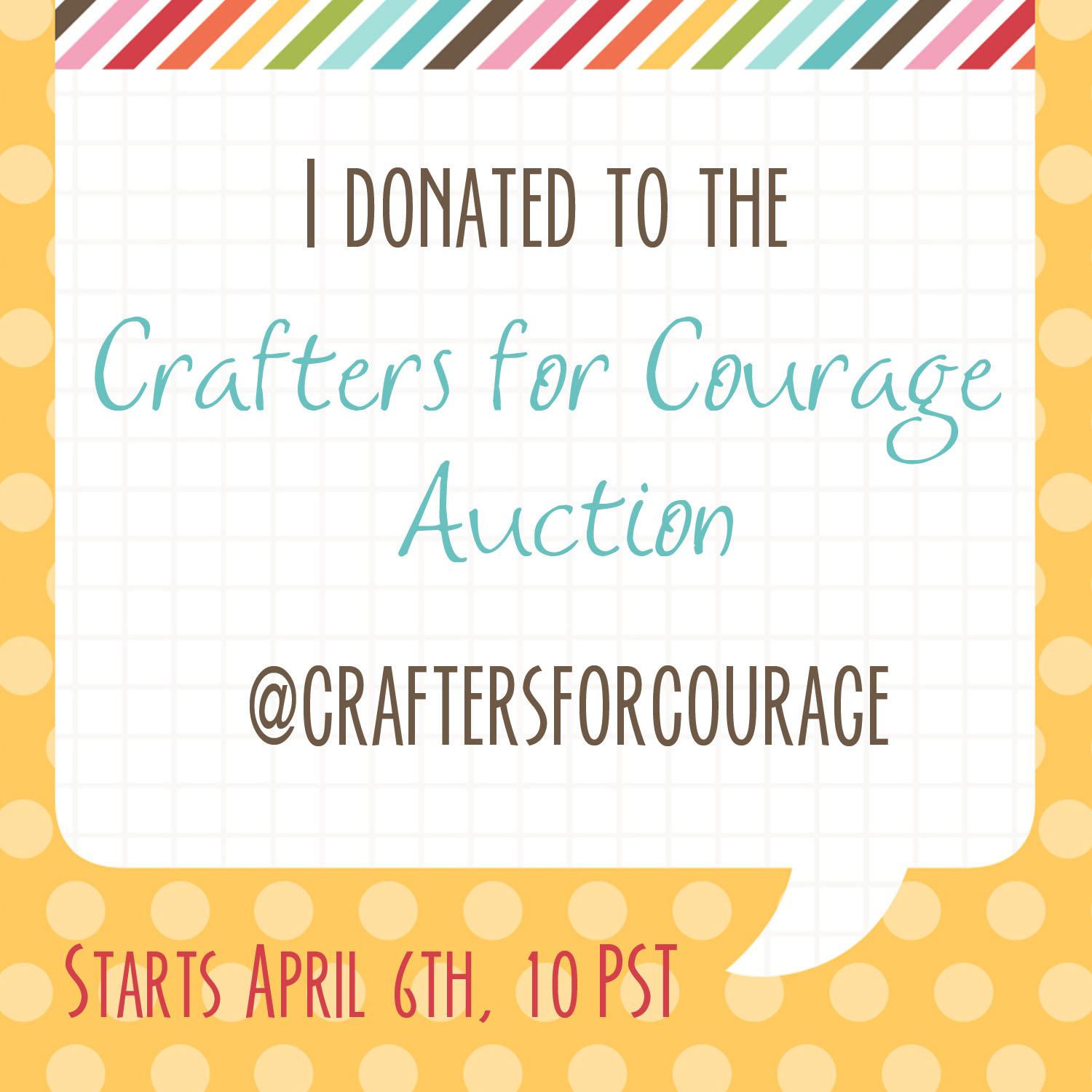 Crafters for Courage | MadeByJaime