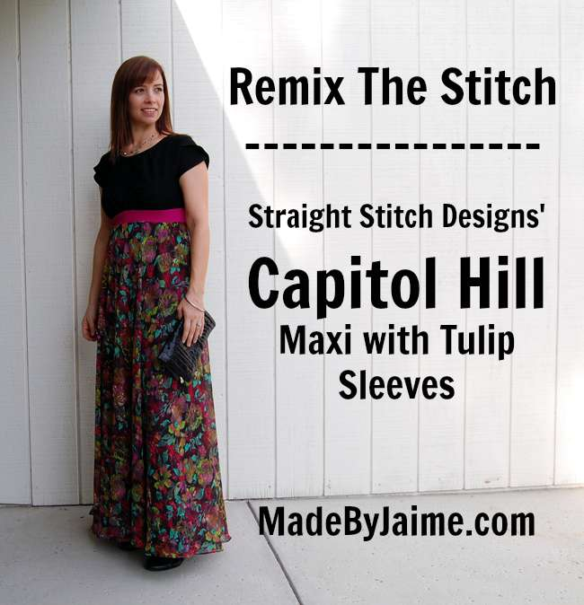 Straight Stitch Designs' Capitol Hill Remix | MadeByJaime